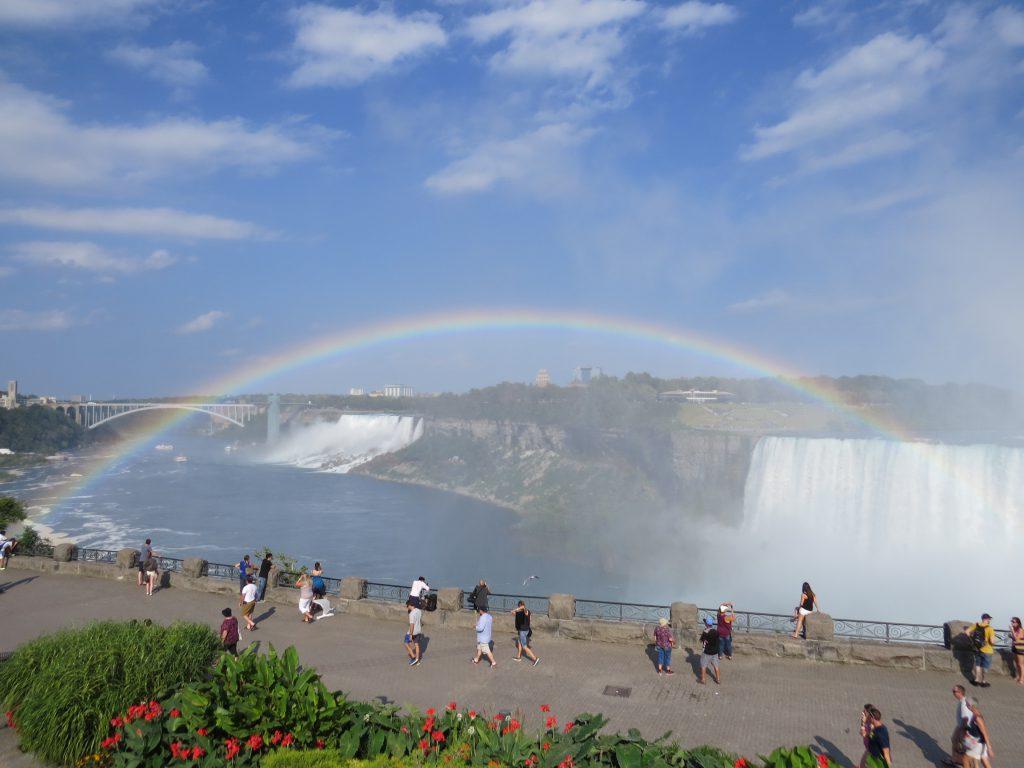 ナイアガラの虹